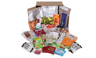 Genuine Military Style 24 hour Ration Pack British Army | EVAQ8 Emergency Preparedness