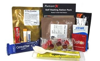 Ration-X MRE | genuine military style 'meal-ready-to-eat' nutritious, delicious and easy to use | EVAQ8 Emergency Preparedness